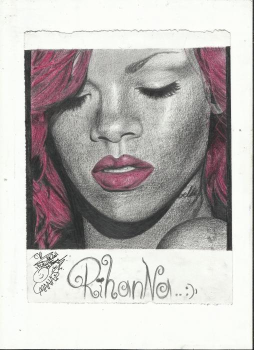 Rihanna by MaNaR